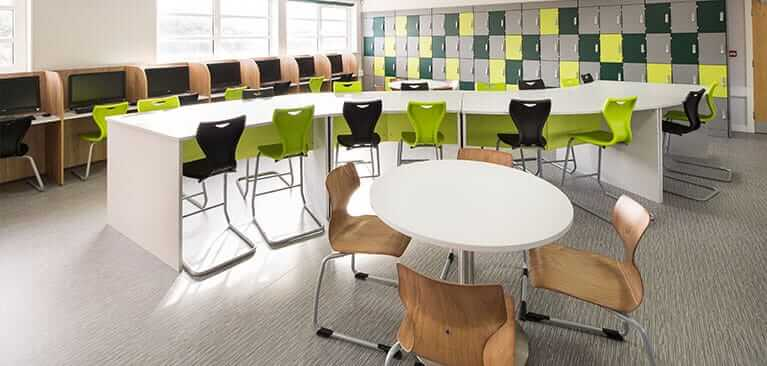 There Are Certain Types Of Furniture That Well Suited For This Type Learning Environment Example Chairs Flex To The Users Movements And