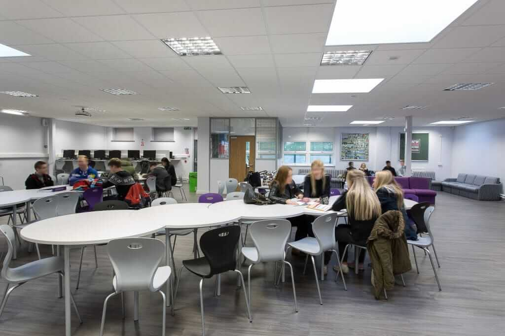 Pinnacle Educational Furniture for Rainham Mark Grammar School - 6th Form Common Room Refurbishment and Furniture
