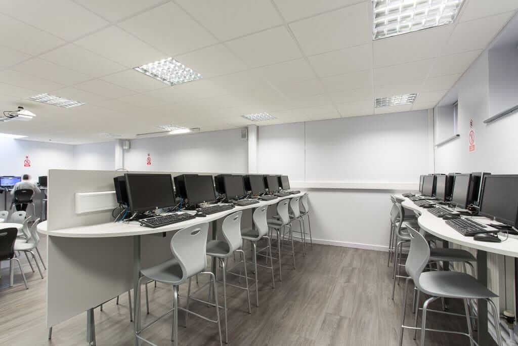 Pinnacle Educational Furniture for Rainham Mark Grammar School - 6th IT Suite