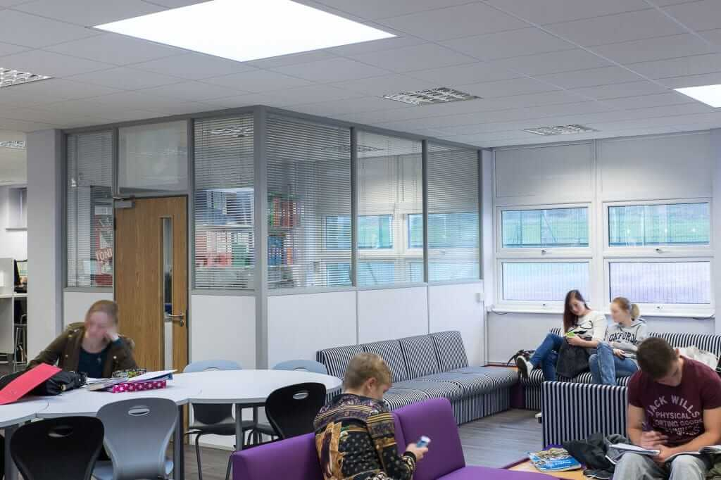 Pinnacle Educational Furniture for Rainham Mark Grammar School - 6th Form Common Room Refurbishment