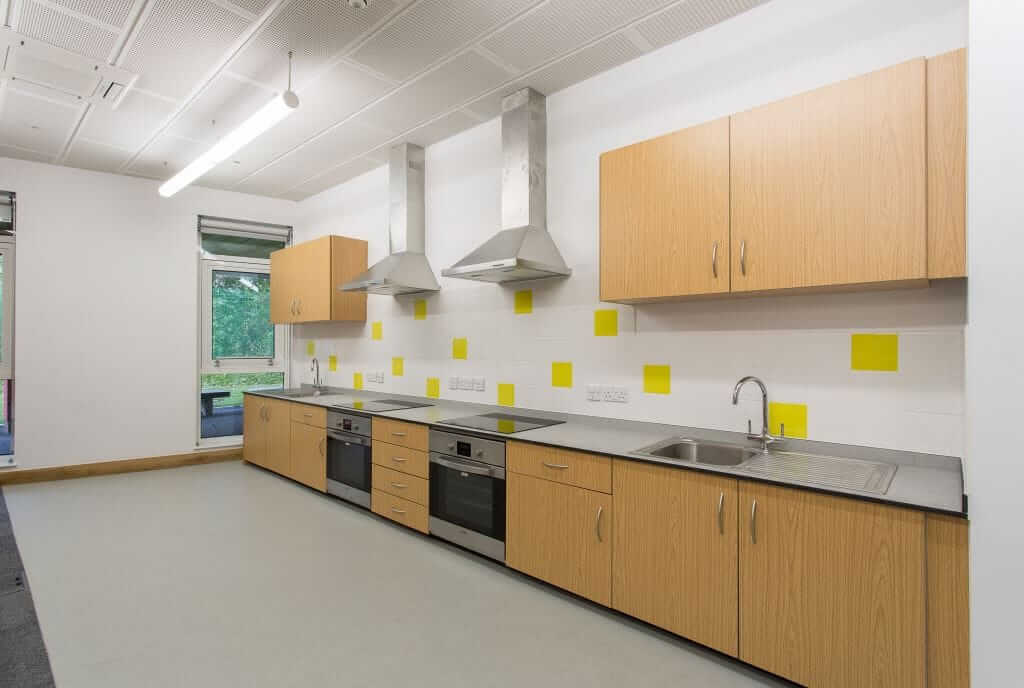 Pinnacle Educational Furniture for Holy Family Catholic Primary School - New Kitchen