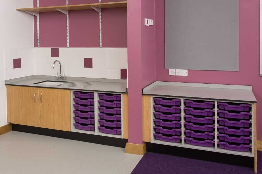 Pinnacle Educational Furniture for Holy Family Catholic Primary School - New Storage Space