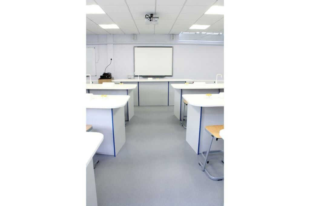 Pinnacle Educational Furniture for Ranelagh Church of England School - Science Laboratory Refurbishment