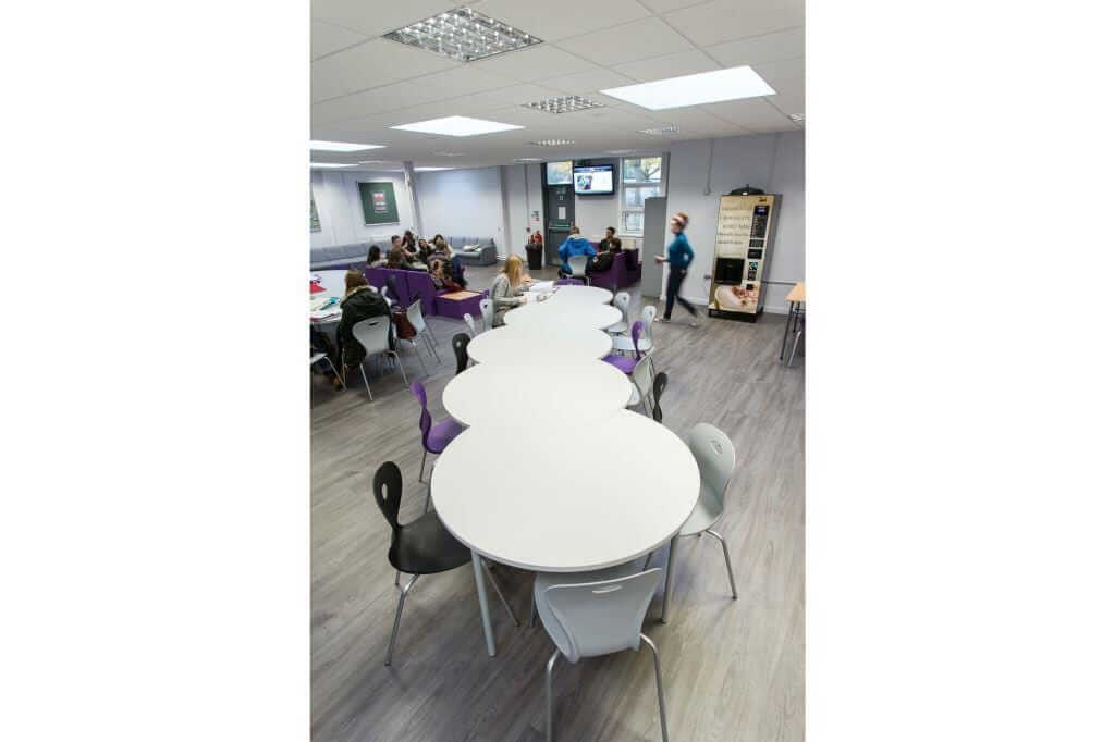 Pinnacle Educational Furniture for Rainham Mark Grammar School - 6th Form Common Room