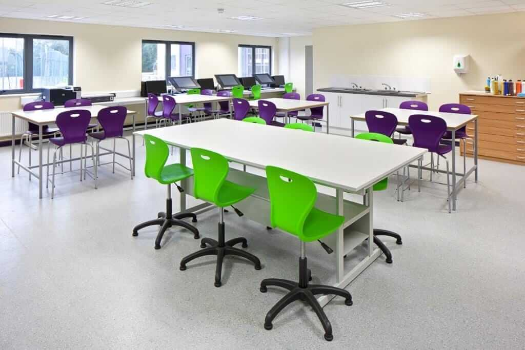 Pinnacle Educational Furniture for Christ the King College - New Science Block