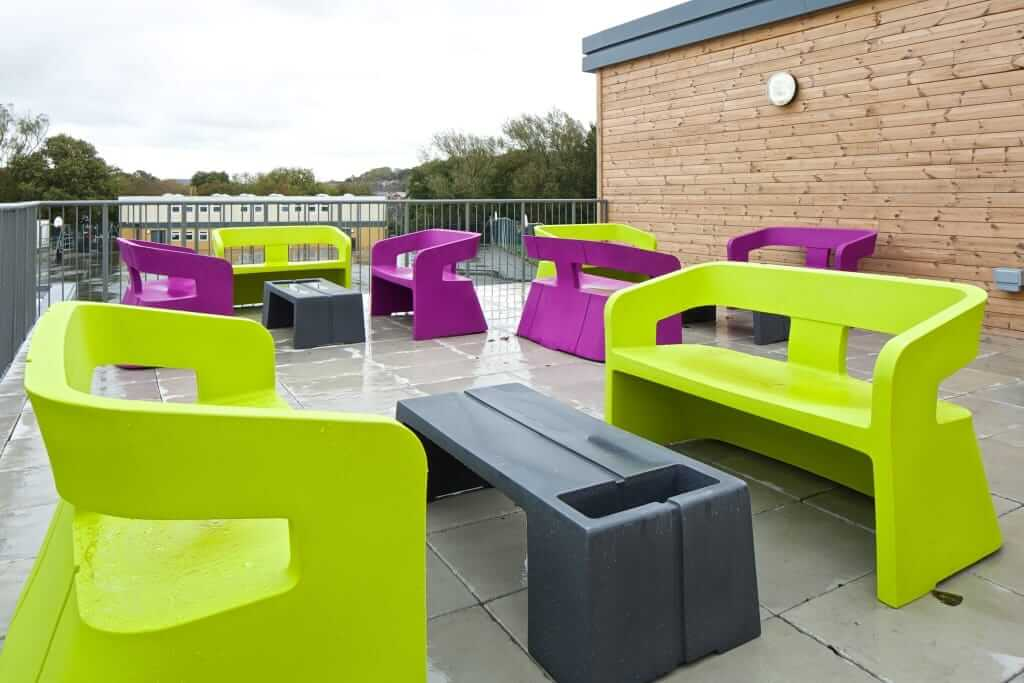 Pinnacle Educational Furniture for Christ the King College - New Outdoor Area
