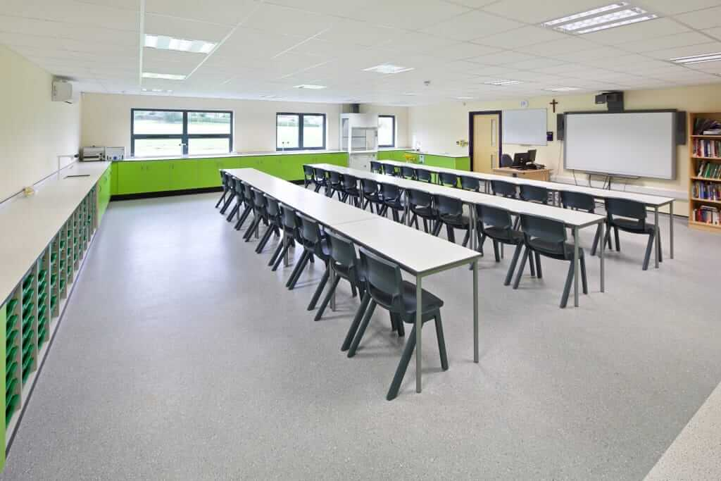 Pinnacle Educational Furniture for Christ the King College - New Teaching Block