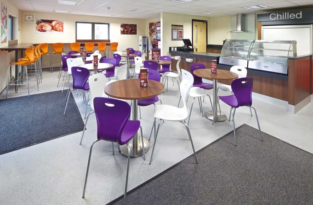 Pinnacle Educational Furniture for Christ the King College - New Cafeteria
