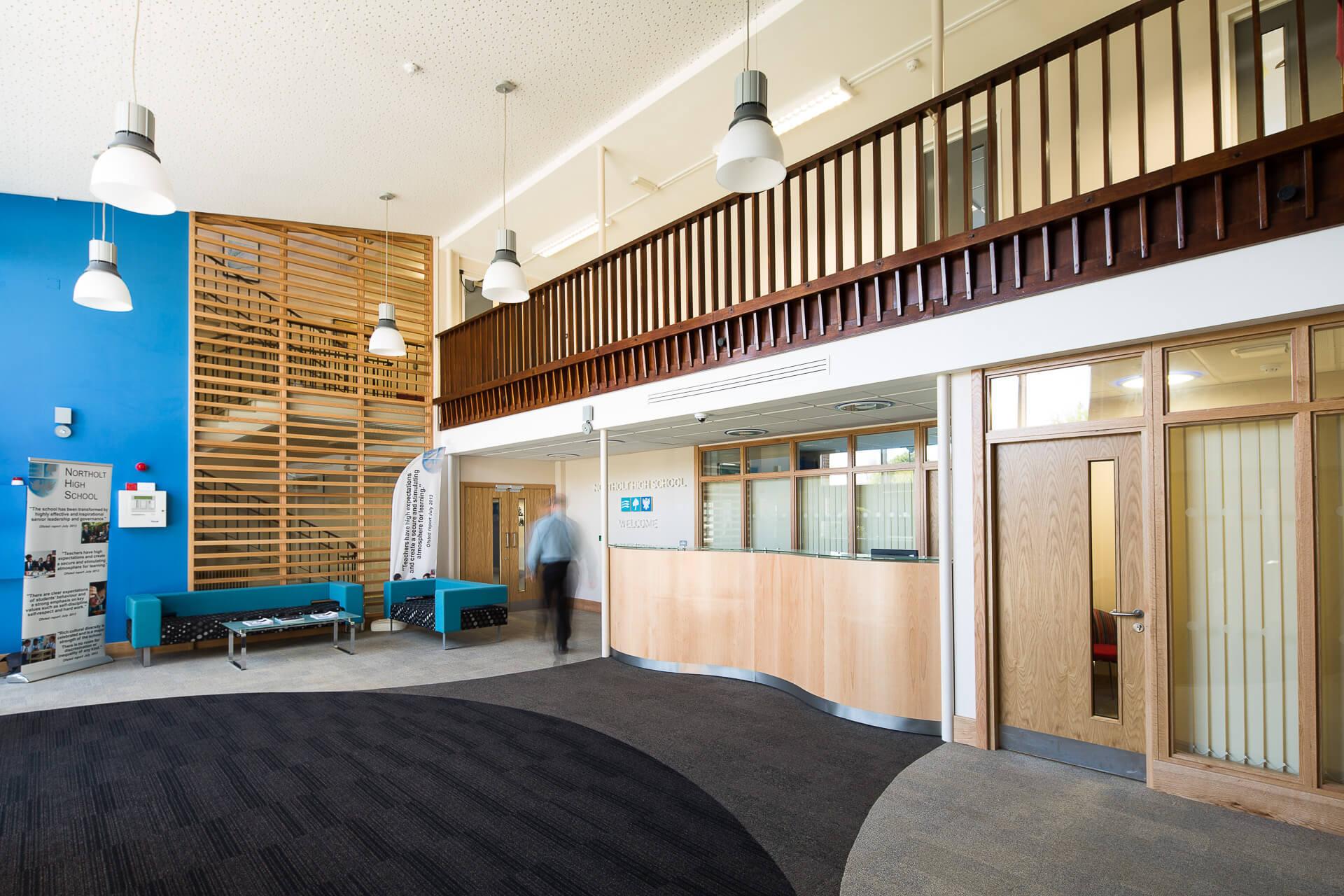 Notholt High School | Case Studies | Pinnacle Furniture